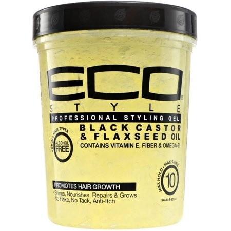 ECO STYLER Black Castor & Flaxeed Oil 32 oz