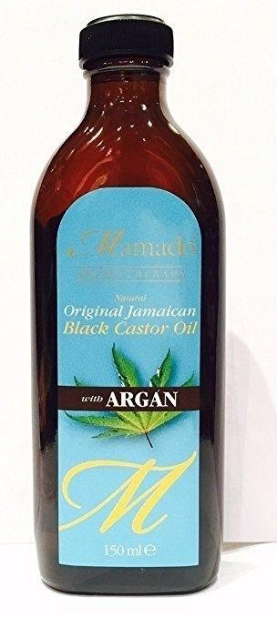MAMADO Natural Jamaican Black Castor Oil Argan
