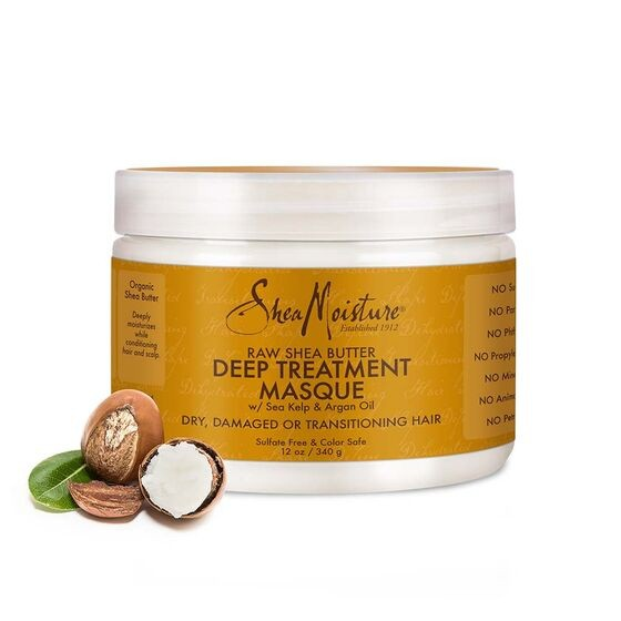 SHEA MOISTURE RAW SHEABUTTER Deep Treatment Masque