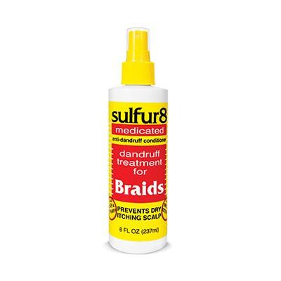 SULFUR 8 Anti Dandruff Braid Spray