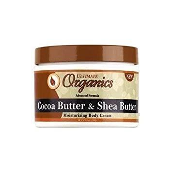 ULTIMATE ORGANICS Cocoa Butter & Shea Butter Body Creme