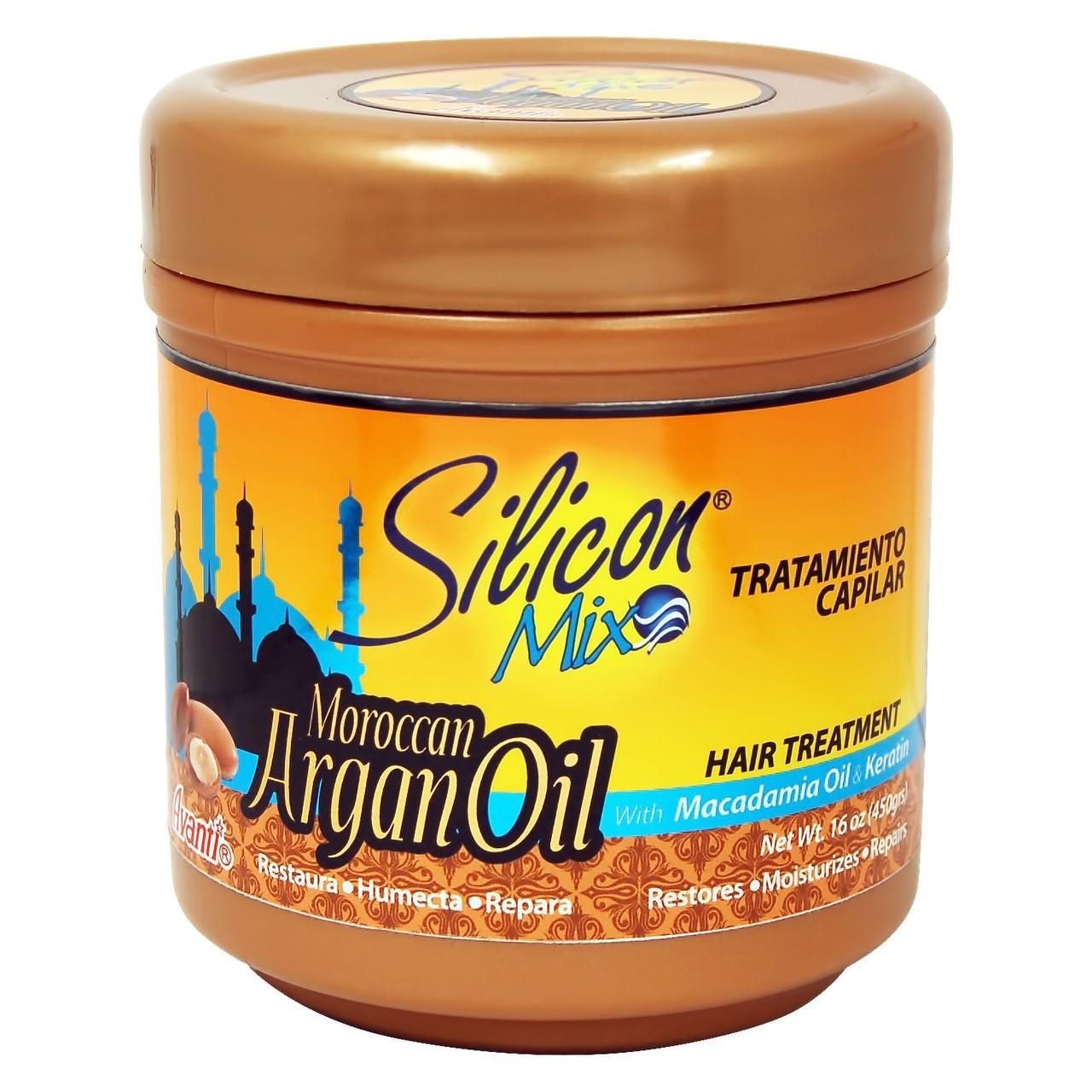 SILICON MIX Maroccan Argan Oil Hair Treatment 16oz