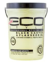 ECO STYLER Black Castor & Flaxeed Oil Gel 5lbs