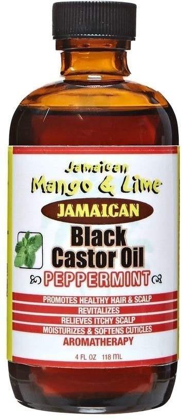 JAMAICAN MANGO AND LIME Castor Oil Peppermint