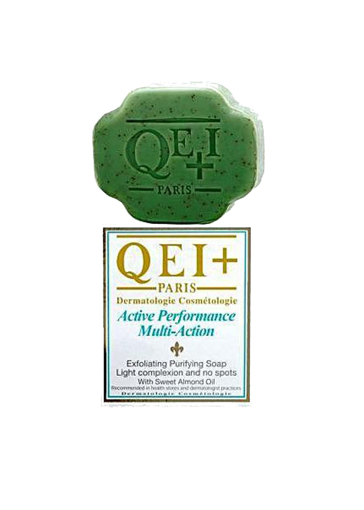 QEI+ ACTIVE PERFORMANCE EXFOLIATING PURIFYING SOAP ALMOND