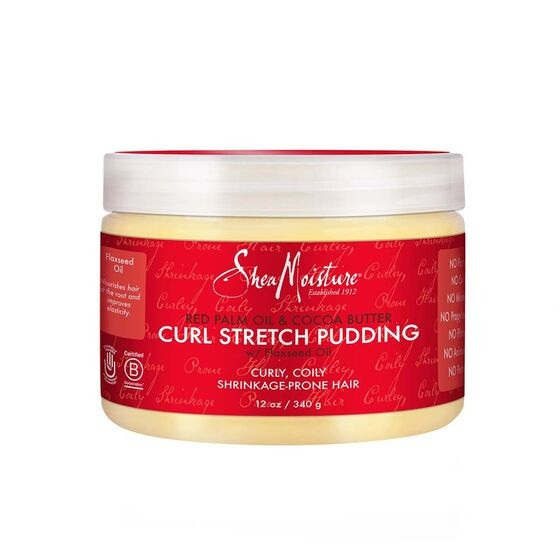 SHEA MOISTURE RED PALM OIL & COCOA BUTTER CURL STRETCH PUDDING