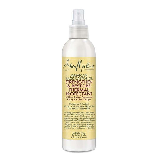 SHEA MOISTURE JAMAICAN BLACK CASTOR OIL Strenghten & Restore Thermal Protectant
