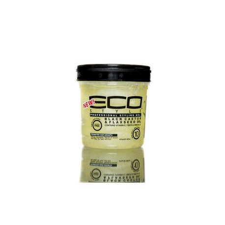 ECO STYLER Black Castor & Flaxeed Oil 8 oz
