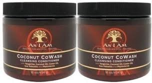 AS I AM CO-WASH TWIN PACK