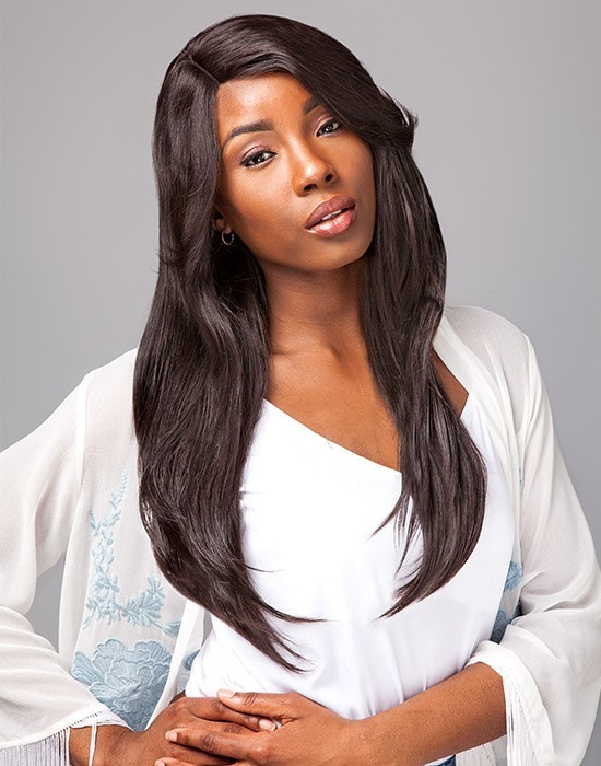 SENSATIONNEL BARE AND NATURAL Lace Wig Natural Straight