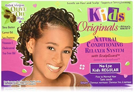 AFRICA'S BEST KIDS ORGANICS No-Lye Relaxer System Kit Regular