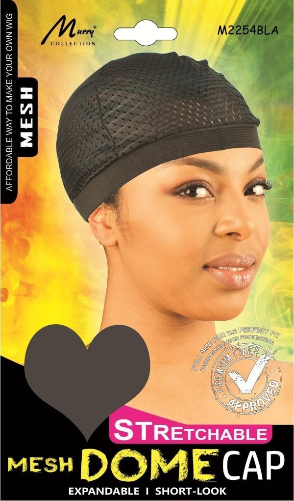 STRECHABLE MESH DOME CAP