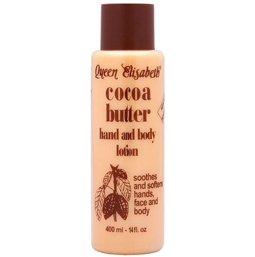 QUEEN ELISABETH Cocoa Butter Hand and Body Lotion 400 ml