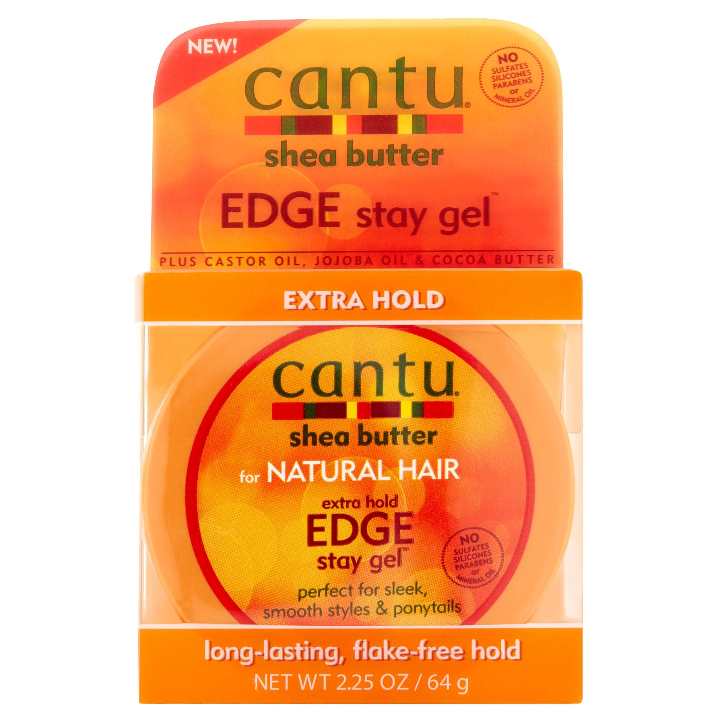 CANTU Shea Butter FOR NATURAL HAIR Edge Stay Gel
