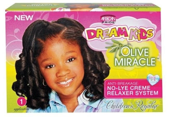 AFRICAN PRIDE Dream Kids Relaxer Regular