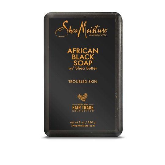 SHEA MOISTURE AFRICAN BLACK SOAP BAR SOAP 2 stuks