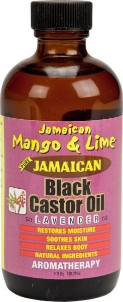 JAMAICAN MANGO AND LIME Castor Oil Lavender