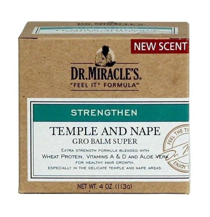 DR MIRACLES temple and nape growth balm