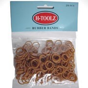 H TOOLZ RUBBERBANDS Licht Bruin