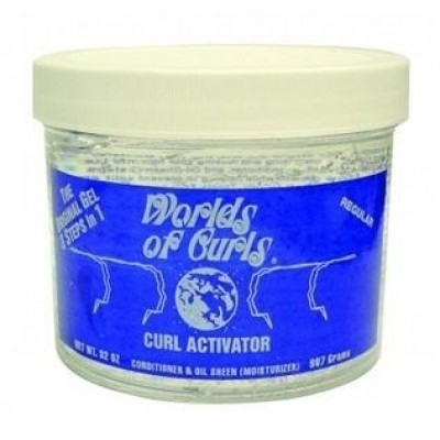 Foto van WORLDS OF CURLS Curl Activator Gel Regular