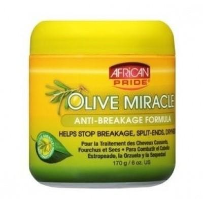 Foto van AFRICAN PRIDE Olive Miracle Anti Breakage Creme