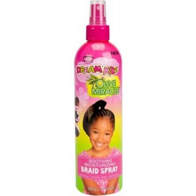 AFRICAN PRIDE Dream Kids Olive Miracle Soothing Braid Spray ( 3 piece )