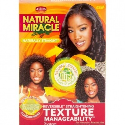 Foto van AFRICAN PRIDE NATURAL MIRACLE Texture Manageability