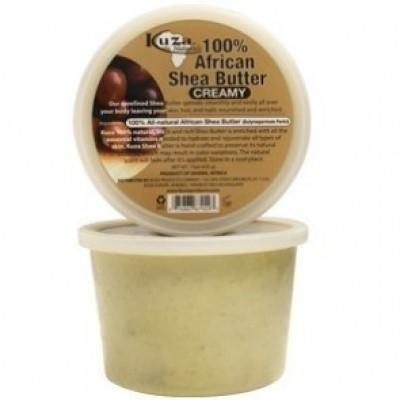 Foto van KUZA 100% African Shea Butter Creamy 425 gr