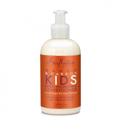 Foto van SHEA MOISTURE MANGO & CARROT KIDS Extra Nourishing Conditioner