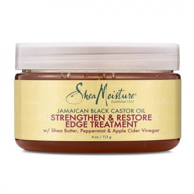 Foto van SHEA MOISTURE JAMAICAN BLACK CASTOR OIL Style & Smooth Edge Treatment Gel