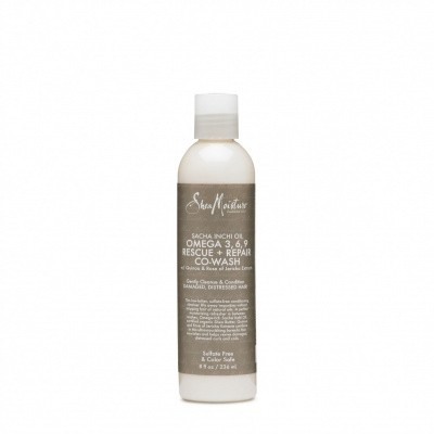 Foto van SHEA MOISTURE SACHA INCHI OIL OMEGA 3,6,9 Rescue + Repair Co-Wash