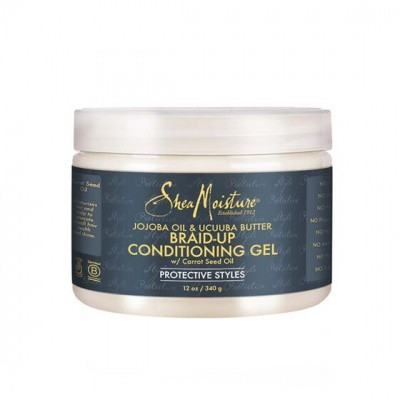 Foto van SHEA MOISTURE JOJOBA OIL & UCUUBA BUTTER BRAID-UP CONDITIONING GEL