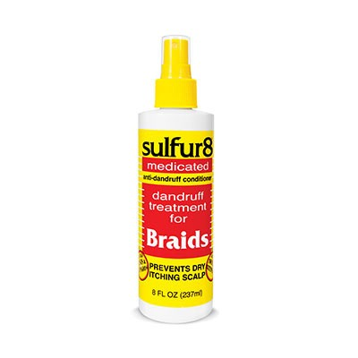 Foto van SULFUR 8 Anti Dandruff Braid Spray
