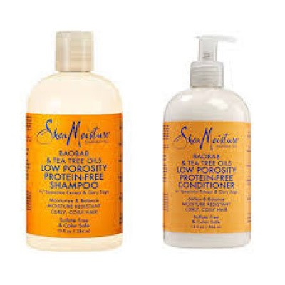 SHEA MOISTURE SET LOW POROSITY