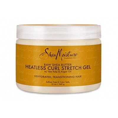 Foto van SHEA MOISTURE Raw Sheabutter Heatless Curl Stretch Gel