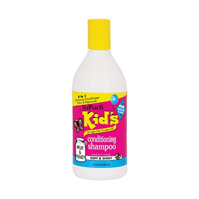 Foto van SULFUR 8 Kids Milk & Honey Conditioning Shampoo
