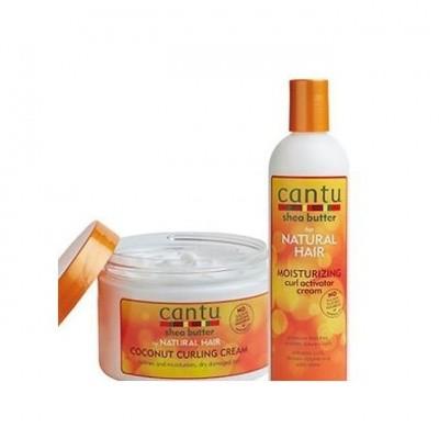 CANTU Curling Cream & Curl Activator