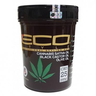 Foto van ECO STYLER Cannabis Sativa Oil Black Castor Oil Olive Oil 32 oz