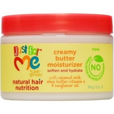 Foto van JUST FOR ME Natural Hair Nutrition Creamy Butter Moisturizer