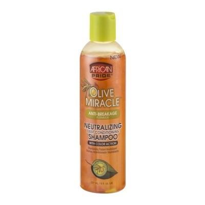 Foto van AFRICAN PRIDE OLIVE MIRACLE Anti Breakage Neutralizing Shampoo