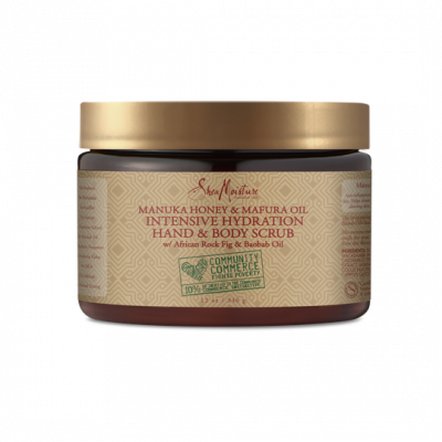 Foto van SHEA MOISTURE MANUKA HONEY & MAFURA OIL INTENSIVE HYDRATION BODY SCRUB