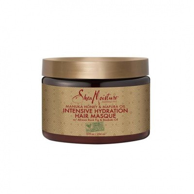 Foto van SHEA MOISTURE MANUKA HONEY & MAFURA OIL INTENSIVE HYDRATION MASQUE