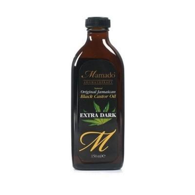 MAMADO Natural Jamaican Black Castor Oil Extra Dark