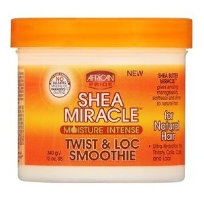 AFRICAN PRIDE Shea Miracle For Natural Hair Twist & Loc Smoothie