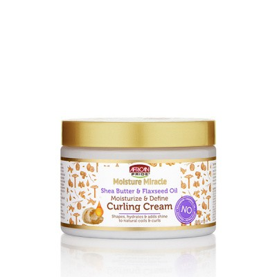 Foto van AFRICAN PRIDE MOISTURE MIRACLE Shea Butter & Flaxseed Oil Curling Cream