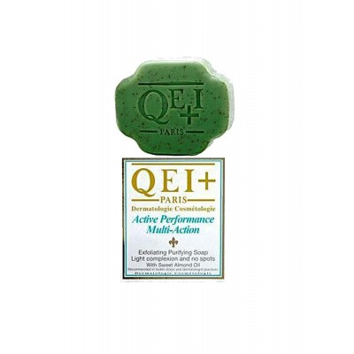 Foto van QEI+ ACTIVE PERFORMANCE EXFOLIATING PURIFYING SOAP ALMOND
