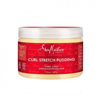 Foto van SHEA MOISTURE RED PALM OIL & COCOA BUTTER CURL STRETCH PUDDING