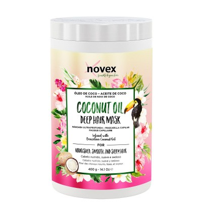 Foto van NOVEX COCONUT OIL Deep Hair Mask 400 gr