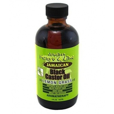JAMAICAN MANGO AND LIME Castor Oil Lemongrass