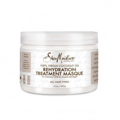 Foto van SHEA MOISTURE 100% VIRGIN COCONUT OIL Rehydation Treatment Masque